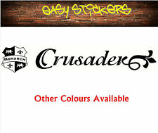 900mm Monarch Crusader Caravan Sticker - Any Colour!
