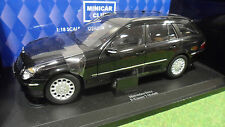 MERCEDES BENZ E-CLASS WAGON T-MODEL Noir 1/18 KYOSHO 09004BK voiture miniature