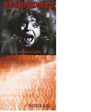"REGURGITATE CORRUPTURED NOISEAR 7"" LP RECORD VINYL SEMEN"