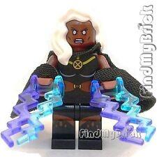 BM010 Lego X-Men vs. The Sentinel Days of Future Past - Storm Minifig 76022 NEW