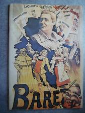 PROGRAMME THEATRE * TOURNEES CHARLES BARET * SAISON 1980 /1981 ARLESIENNE DAUDET