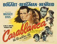 Vintage Casablanca Movie Poster A4 De Impresión