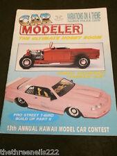 CAR MODELER - PRO STREET T-BIRD BUILD UP - MAY 1992