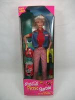 *NEW* 1997 Mattel Coca Cola Picnic Barbie Rare HTF Great Gift!      S4  7.5