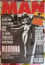 MAN Magazine. Featuring MADONNA.