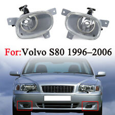 1Pair For Volvo S80 1999-2006 Front Left + Right Side Fog Lights Lamps No Bulb