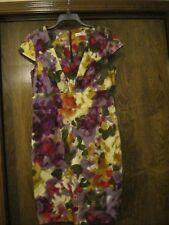 CALVIN KLEIN Multi-Color Cap Sleeve Dress, SZ - 12