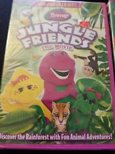 Barney: Jungle Friends The Movie (DVD, 2009, DVD + Music CD) and red yellow blue