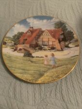 david winter cottages Plate Collection-dove Cottage 1808/10,000