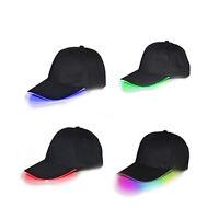 Adjustable Unisex LED Flashing Baseball Sport Hat Light up Glow Cap