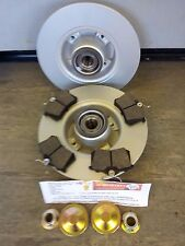 MODUS REAR BRAKE DISCS AND PADS, BEARINGS, ABS RINGS, HUBNUTS & DUST COVERS
