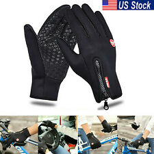 Thermal Windproof Waterproof Gloves Touch Screen Anti-slip Mittens Winter Man US