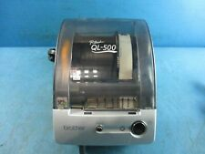 Brother P Touch Ql 500 Thermal Printer With Adapter Used