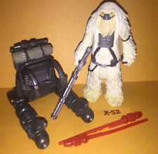 STAR WARS ROGUE ONE figure MOROFF rebel RESISTANCE trooper white fur alien toy
