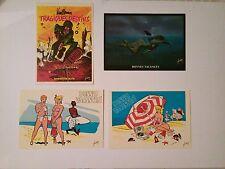 Yves Chaland Vuillemin Nicollet Collection Bonnes vacances 4 cartes postales
