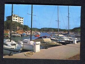 Posted 1990 View of Boats, Playa de Aro, Costa Brava
