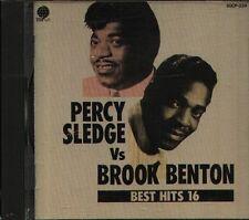 PERCY SLEDGE & BROOK BENTON - BEST HITS 16 - Japan CD