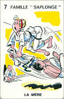 JUDO SPORT PLAYING CARD CARTE À JOUER HUMOR HUMOUR 60s