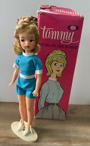 Vintage Tammy Doll In Box - Sandy Blonde VHTF Braid Bun, Hi Color Cheeks VGC