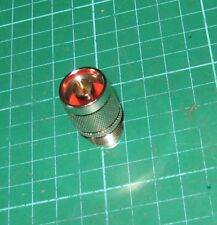 N-Type Plug to so239 Adaptor Gold contacts top quality (PL259 Female UHF)
