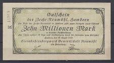 Hamborn - Steinkohlenbergwerk Sindacato Neumühl - 10 Milioni Marchi