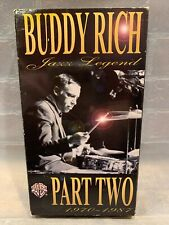Buddy Rich - Jazz Legend Part 2: 1970 - 1987 (VHS, 1995)