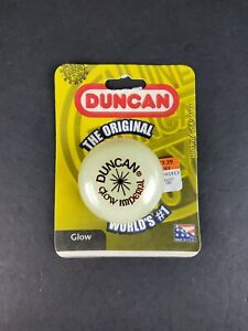 Yo-Yo White Duncan GLOW IMPERIAL 1999 Sealed In Package NOS Made In USA Toy NEW