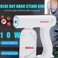 Handheld USB Nano Sanitizer Sprayer Cordless Disinfectant Fogger Gun Machine