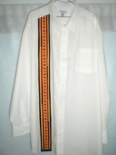 "Dress Shirt, Oklahoma Style Appliqued Dress Shirt ,""Southern Singer Special"" 4XL"