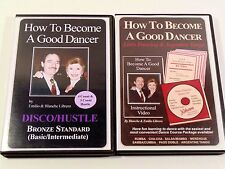 """Set of 2 """"How to Become a Good Dancer"""" DVD's (Latin/Argentine and Disco/Hustle)"""