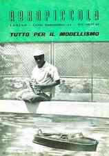 MODELLISMO AEREO Catalogo Modellismo AEROPICCOLA 25 1959 - DVD