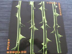 Type O Negative - October Rust   Rar 2 x 12 Green Translucent Vinyl Rerelease