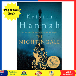 The Nightingale by Kristin Hannah | Paperback Book | BRAND NEW | FREE SHIP AU