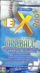 1997 Skybox EX Century Baseball Sealed Hobby Pack