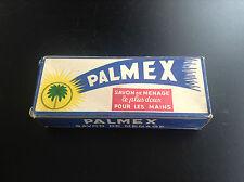 RARISSIME ancien paquet savon Palmex  Timbre Tintin
