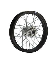 HMParts Pit Bike Dirt Bike Cross Felge 12 Zoll Typ9 hinten schwarz eloxiert 15mm