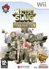 Metal Slug Anthology Nintendo WII Video Game Original UK Release