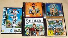 5 PC juegos colección colonos II III IV V VI patrimonio de reyes ascenso Reino