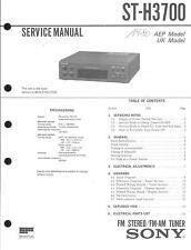 Sony Original Service Manual für ST-H 3700