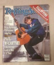 ROLLING STONE Magazine February 1990 PAUL McCARTNEY Daniel Day Lewis THE WHO