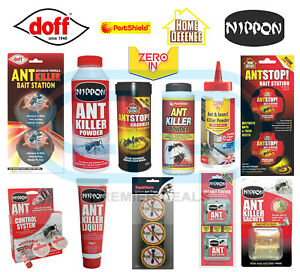 DOFF, HOME DEFENCE, NIPPON,  Ant Killer,  Bait Station, Powder, Granules, Liquid
