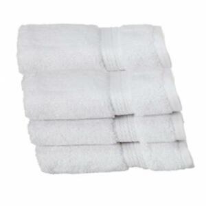 900GSM Egyptian Cotton 6-Piece Face Towel Set White