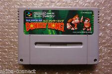 "Super Donkey Kong ""No Box/No Manual"" Nintendo Super Famicom SFC Import Japan"