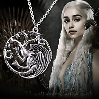 GAME OF THRONES TARGARYEN SIGIL NECKLACE
