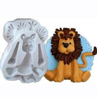 3D Animal Silicone Fondant Chocolate Sugarcraft Mould Cake Decor Baking Mold FM