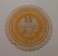 Siegelmarke Vignette GEWERBESTEUERAUSSCHUSS STADTKREIS CHARLOTTENBURG (9465-5)