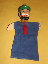 VINTAGE OLD TOY  LITTLE RED RIDING HOOD WOODSMAN HAND PUPPET