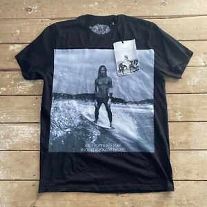 BNWT Bastille Rive Droite Iggy Pop T-Shirt Large Made In Italy RRP €100