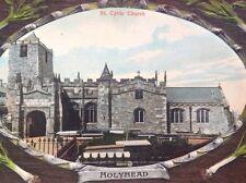 St.Cybis' Church, Holyhead postcard