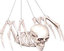 Morris Costumes Plastic Skull Spider Skeleton Small Decorations & Props. SS71013